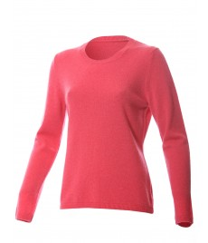 woman cashmere pullover u neck