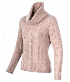woman pullover cashmere collar