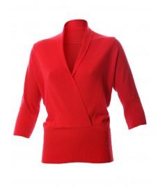 woman cashmere blouson