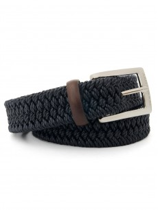 man belt leather elastic 1404