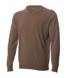 man cashmere pullover deep v neck