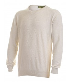 man cashmere pullover diamond knit