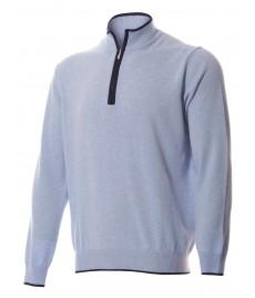 man cashmere pullover zip