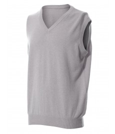man cashmere sleeveless v neck