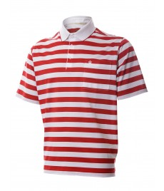 man polo shirt fine stripe