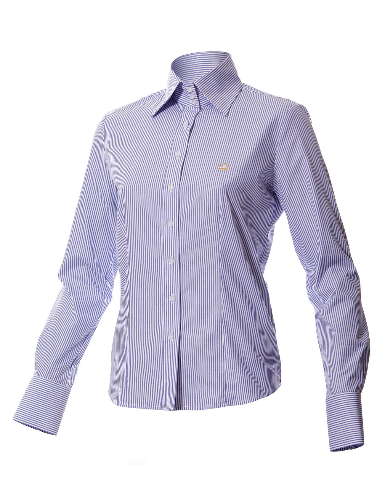 High Collar Shirts For Womens